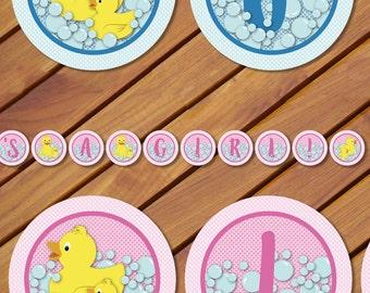 Rubber Ducky Banner, Birthday Rubber Ducky, Baby Shower Rubber Ducky, Rubber Duck, Rubber Duckie, Rubber Duckie Banner, Rubber Duck Banner