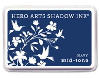 Hero Arts Navy Mid-Tone Shadow Ink Af234