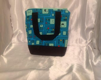 BMO Adventure Time Insulated Zip-up Lunch bag