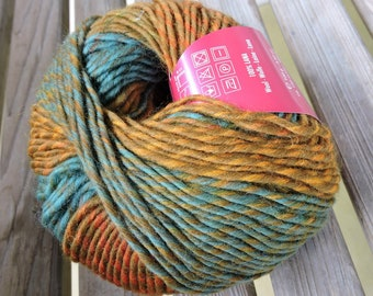 BULKY Weight Yarn - Filatura di Crosa Colorino   - 100 g / 164 yards  - color #5