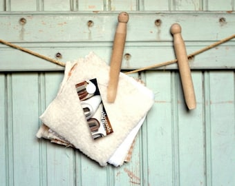 SALE Today Organic Swatch Kit - Terry Sherpa Velour Fleece Sheeting French Terry - 6 Sample Organics