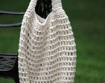 Crochet PATTERN - Crochet Market Bag Pattern - Crochet Patterns - Reusable Bag - Green Grocery Bag - Easy Crochet Pattern - PDF 281