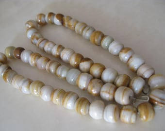 Very Rare Antique Necklace Ancient Agate Trade Beads