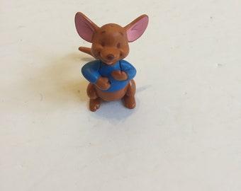 Vintage Winnie the Pooh - Roo PVC Cake Topper Figure - 1990's Vintage Winnie the Pooh Toy