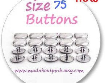 Size 75 - Cover button 20pcs/pack