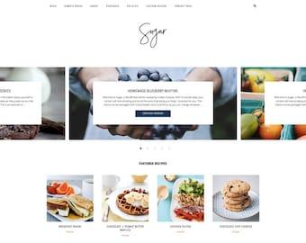 Sugar - A Responsive WordPress Blog Theme