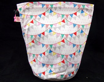 R/M/L/S Bunting project bag