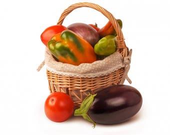 Vegetables Basket Photo, Food Photography, Digital Photography Instant Download!