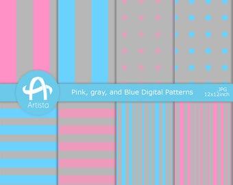 Digital Scrapbook ペーパー Download Digi Pattern Downloads