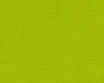 Robert Kaufman Kona Cotton 414 Peapod solid fabric 1 Yard