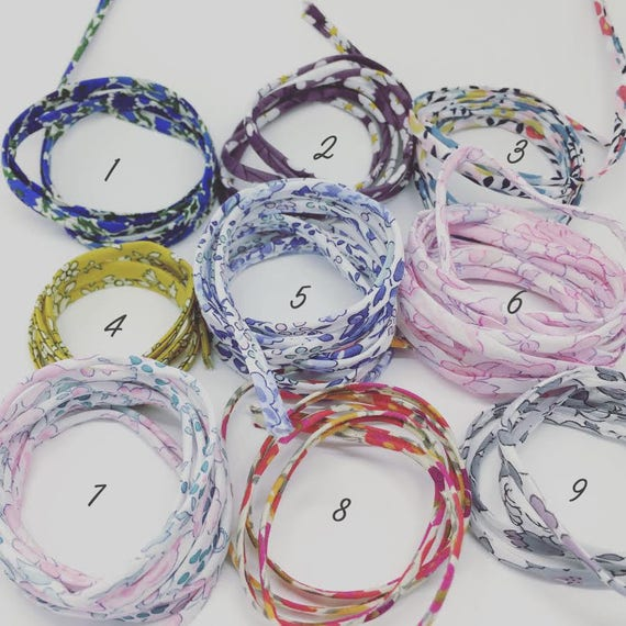 CORD options - Liberty of London - for your jewelry Palilo