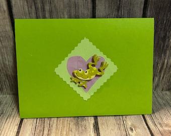 Froggy card