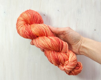 Happy Peach - Squid Worsted - Ready to Ship