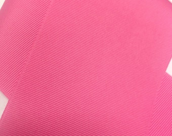 """3"""" HOT PINK / Bright Pink Grosgrain Ribbon -100% Polyester  - Popular Color!  Great for Cheer Bows & Hair Bows"""