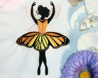 """Dancing Fairy 03  Machine embroidery design - 4""""x 4"""" and 5"""" x 7"""" Hoop sizes"""