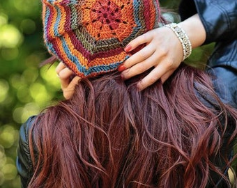Instant Download, Everyday Slouch Hat Pattern, PDF FIle