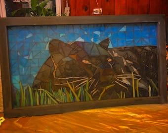 "Custom Mosaic Pieces (28"" x 15"")"