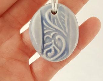 Handcrafted Ceramic Pendant