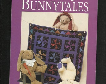 Dream Spinners  168 Bunnytales Cuddly Big Bunnies and Windmill Quilt Size 20 inch bunny UNCUT
