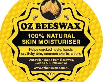 Oz Beeswax 100% Natural Skin Moisturiser