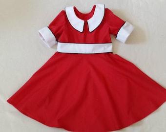 2T through 5T Orphan Annie Dress