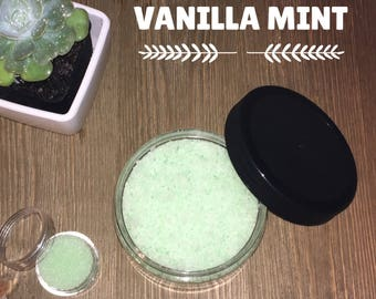 Homemade Sugar Scrub - Vanilla Mint