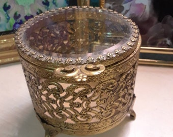 mini jewelry casket