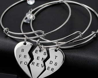 Best Friends Forever Bangle Bracelet, Best Friends