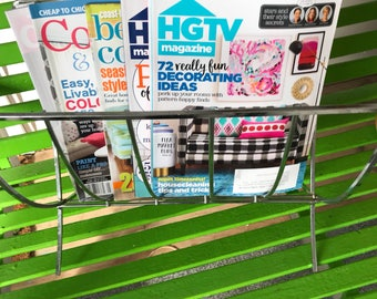 Mid Century Modern Magazine Rack