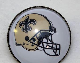 New Orleans Saints Football Helmet Pin New
