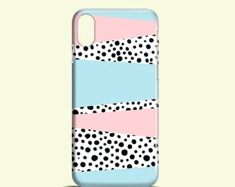 Pastels and Dots phone case / doodle iPhone X case / iPhone 8/7 Plus /  iPhone 8, iPhone 7, iPhone 6/6S, iPhone 5/5S / Samsung Galaxy S7