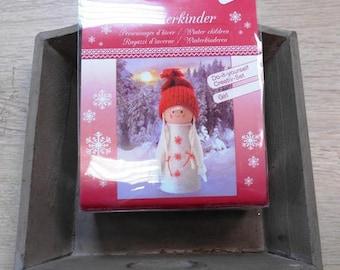 1 kit 1 decoratie van Kerstmis 14 cm pop maken