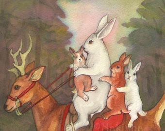 The Ride Home- Limited Edition Fine Art Print - Prints Ship for FREE in the USA