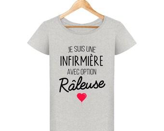 T-shirt I'm a nurse with optional shrew wife