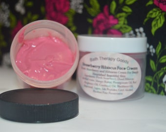 Strawberry Hibiscus Face Cream