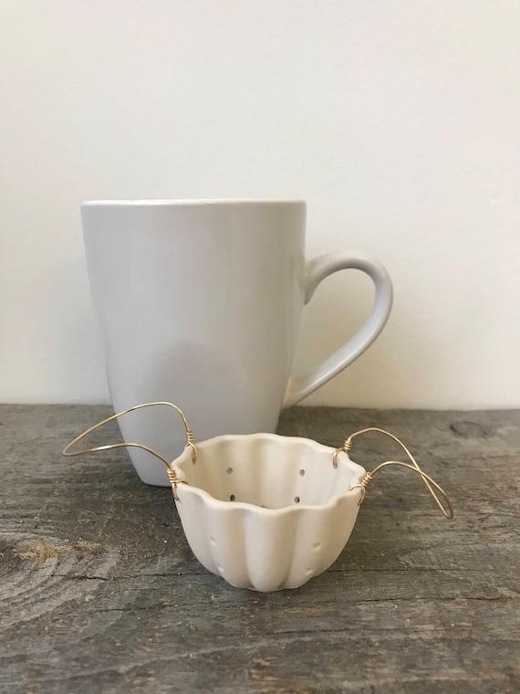 Porcelain Tea Strainer