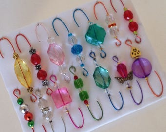 OnlyOneBox Variety *5 - Beaded Ornament Hangers -  FREE SHIPPING