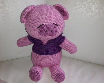 Hook - Amigurumi pig