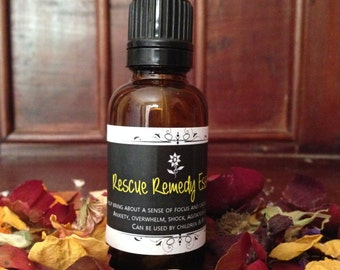 Bach Flower Remedy - Rescue Remedy - Stress - Shock - Emotional - Large Bottle
