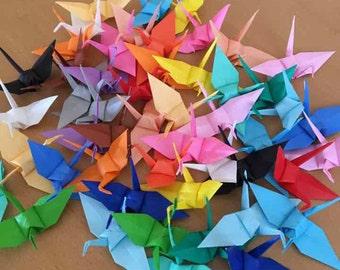 50 Origami Mini Cranes