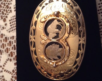 Great Looking Western Belt Buckle Made In U.S.