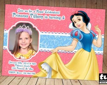Princess Snow White Invitation
