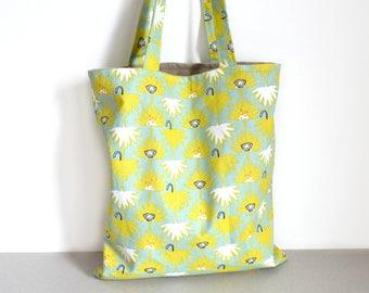 Bag child monkey print cotton