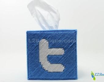 Twitter Logo Tissue Box Cover