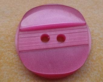 10 buttons 18mm pink (6434) button