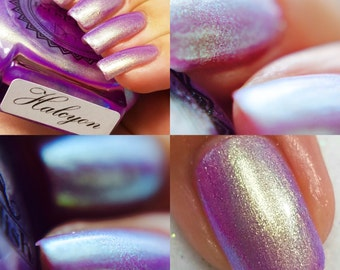 """P•O•P Polish """"Halcyon"""" Nail Polish Quick Dry Ethereal Winter Iridescent Tags/ DuoChrome Mirror MultiChrome"""