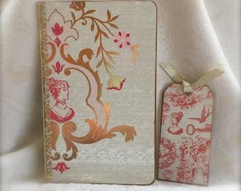 Jane Austen Theme - Hand Altered Journal