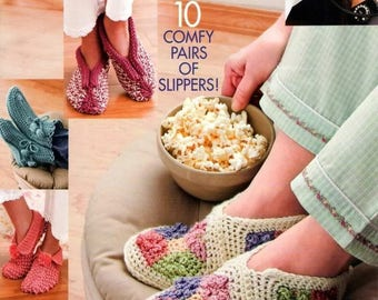 Hooked on crochet,  slippers /socks / crochet ebook / digital download / easy to difficult level / crochet stitch patterns