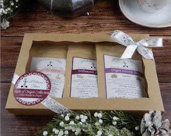 Mini Oregon Tea's Gift Set - Berry Tea Gift Set - Berry Loose Leaf Teas - Tea Gift Set - Gift for Mom - Gift for Her