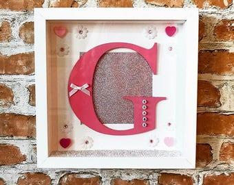 Personalised Letter Art Frames